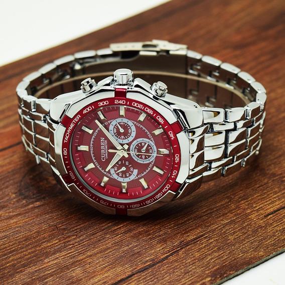 Relógio Promoção Barato Na Caixa Com Garantia + Brinde
