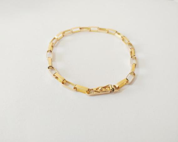 Pulseira Cartier Masculina 4 Gramas Em Ouro 18kl 750