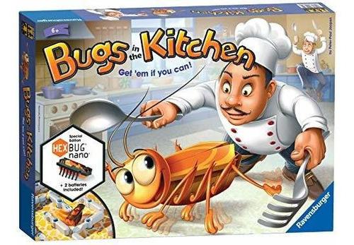 Bichos En La Cocina - Juego De Mesa Para Niños