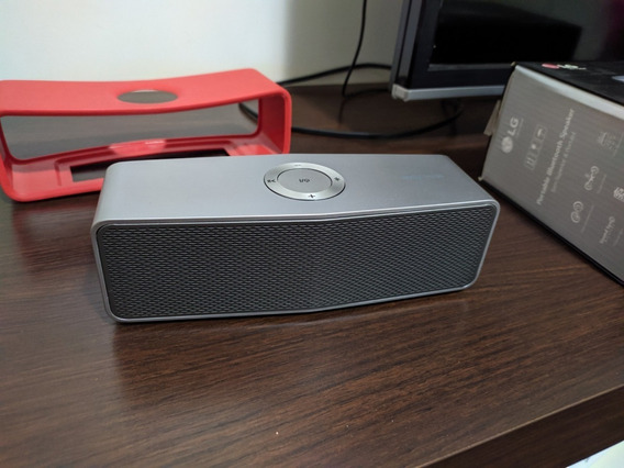 Caixa De Som Bluetooth Lg Musicflow P7 20w Rms