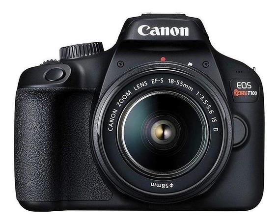 Câmera Fotagrafica Digital Canon Eos Rebel T100