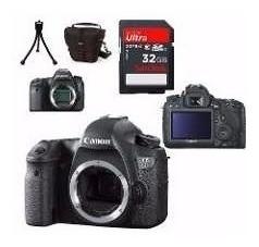 Câmera Canon Dslr Eos 6d (corpo)+ Sd32gb + Bolsa + Tripé