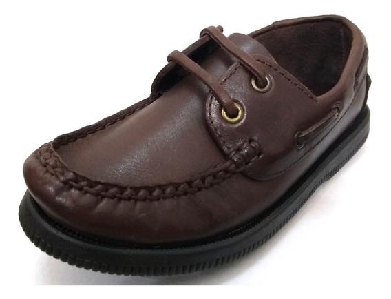 Zapatos Náuticos De Cuero Vacuno Cheeky Connor