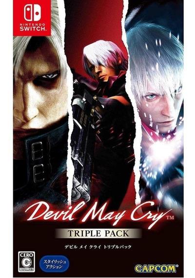 Devil May Cry Triple Pack - Switch Mídia Física (asiático)
