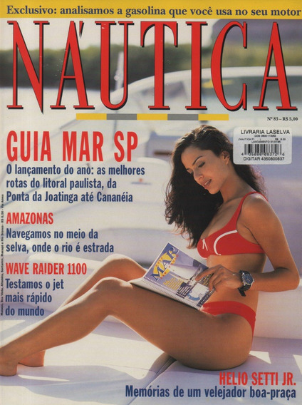 Náutica Nº83 Yamaha Wave Raider 1100 Marajó 17 S 33 Setti Jr