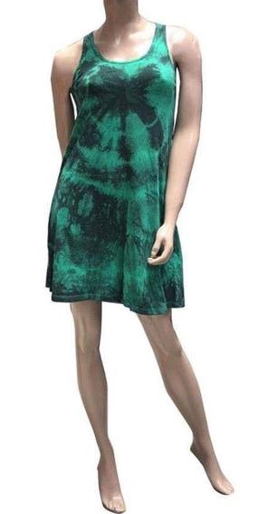 Vestido Corto Musculosa (art 033)- Batik De Jersey De Algodon Del 1 Al 5. Somos Fabricantes