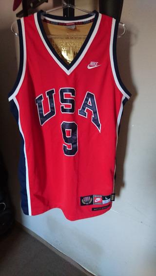 Camiseta Nike Michael Jordan Time Usa 1984