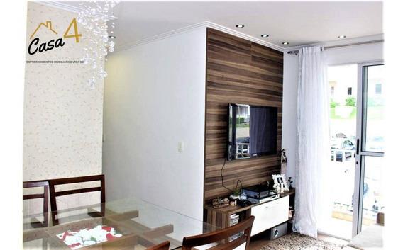 Apartamento Todo Mobiliado Com 2 Dormitórios À Venda, 42 M² Por R$ 175.000 - Jardim São Miguel - Ferraz De Vasconcelos/sp - Ap0174