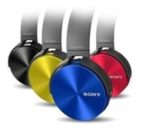 Kit 10 Fone Ouvido Sony Mdr-xb450 Headphone Extra Bass