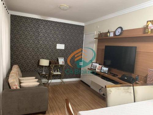 Imagem 1 de 17 de Apartamento Garden Com 3 Dormitórios À Venda, 91 M² Por R$ 480.000,00 - Vila Augusta - Guarulhos/sp - Gd0006
