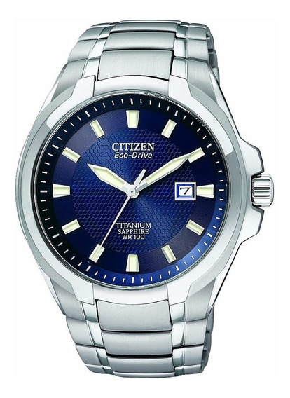 Relógio Citizen Eco-drive Chrono Super Titanium Bm7170-53l