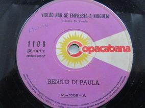 R/m - Vinil Compacto - Benito Di Paula - Violao Nao Empresta