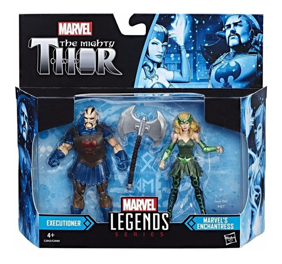 Marvel Universe Legends Executioner E Enchantress