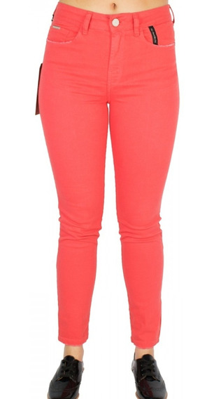 Calça Jeans Feminina Ellus Gisele Skinny Soft Color 19sa437