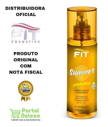 Spray Summer Protetor Térmico Capilar - Fit Cosmetics