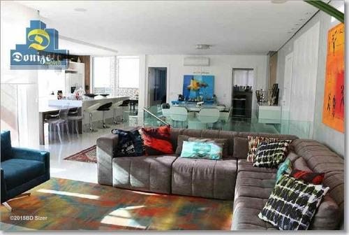 Cobertura Com 3 Dormitórios À Venda, 322 M² Por R$ 2.650.000,00 - Campestre - Santo André/sp - Co0605
