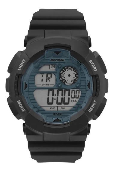 Relógio Mormaii Masculino Acqua Wave Preto C/ Nf Mo3415d/8a