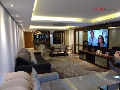 Apartamento Mobiliado Com 3 Dormitórios E 3 Vagas No Bairro Tristeza - Ap1361