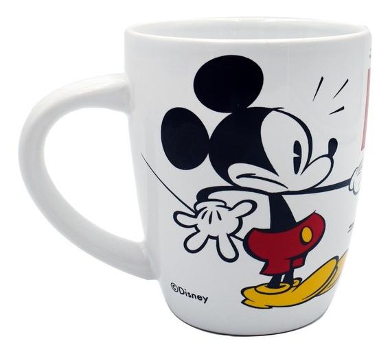 Taza Para Cafe Disney Mickey Mouse Cerámica 380ml