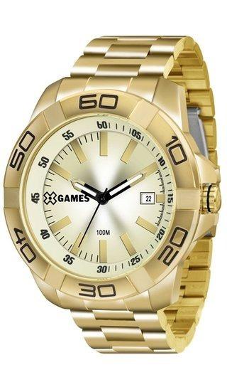 Relógio Masculino Dourado Xgames Xmgs1020 C1kx