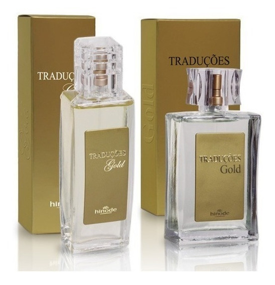 01 Perfume Traduções Gold Hinode 100 Ml
