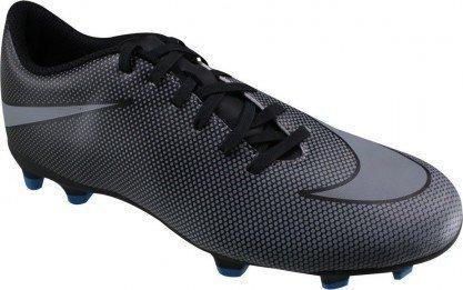 Chuteira Nike Bravata Fg 2 Campo Original Cinza