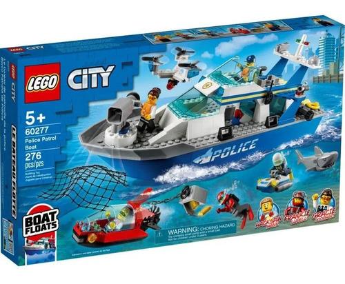 Imagem 1 de 2 de Lego City Barco Da Patrulha Da Policia
