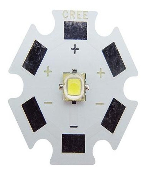 Kit 132 Chip Led 3w Cree 3535 55w10k 55rb 22uv