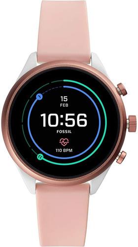 Reloj Fossil Smartwatch Para Dama Tactil En Caja Sellada