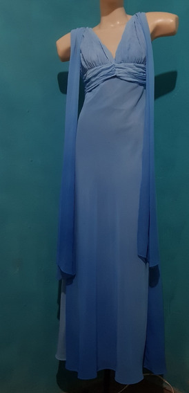 Vestido Frozen Elza Degradê Adulto Festa Temática