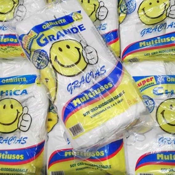 Bolsa De Carita Feliz 1 Kilo Chi,med,gde