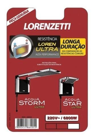 Resistência Lorenzetti Loren Ultra 6800w 220v