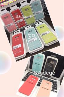 Case Cover De Silicona Para iPhone Y Samsung