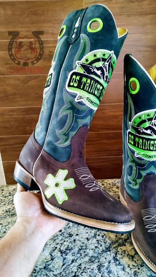 Bota Country Texana Botina Corium Boots