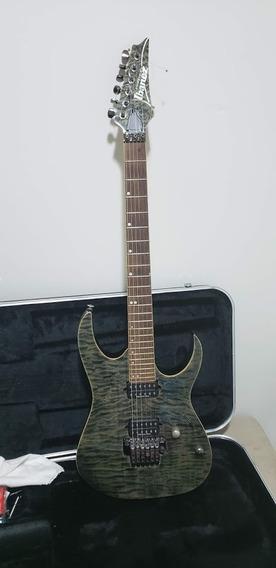Guitarra Ibanez Rg970 Premium Black Ice Burst
