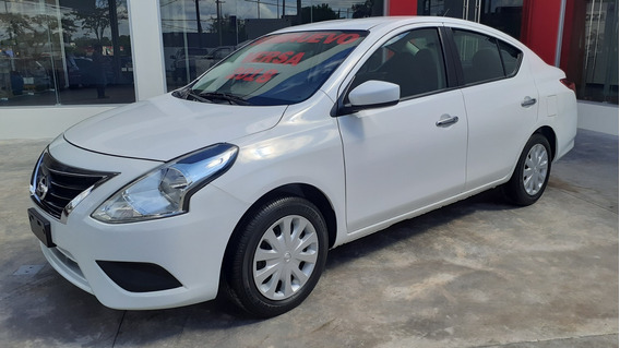 Nissan Versa 1.6 Sense At 2018 Blanco