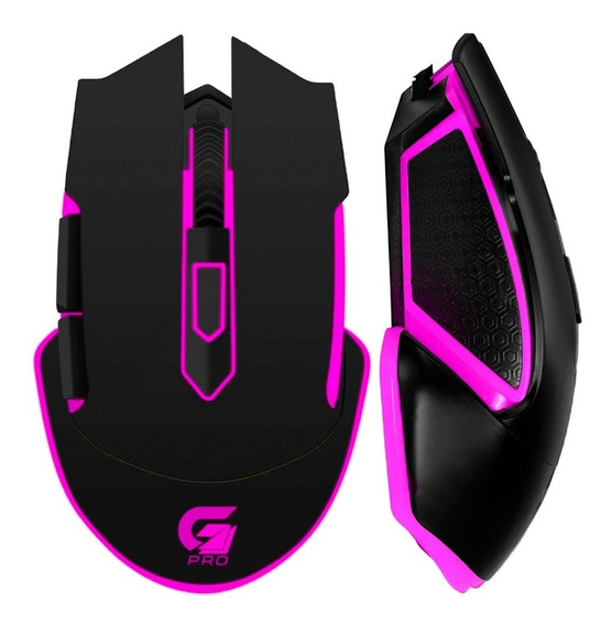 Mouse Gamer Rgb 4800dpi 6 Botões Optico Pc Notebook Usb Led