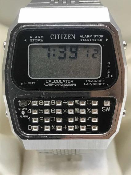 Relógio Citizen Calculadora Com Lcd De 1977 Relogiodovovô.