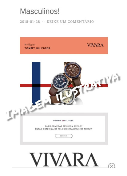 Relógio Tommy Hilfiger Watches - Pulseira De Couro