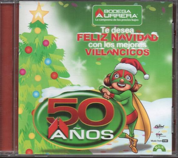 Bodega Aurrerá / 50 Años Feliz Navidad La Hermandad Yuri Cd