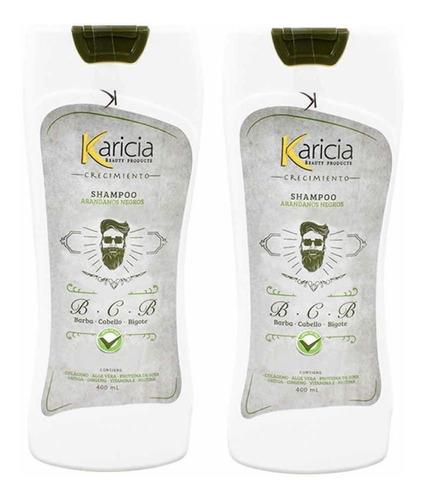 Shampoo De Crecimiento: Cabello, Barba Y Bigote (karicia)
