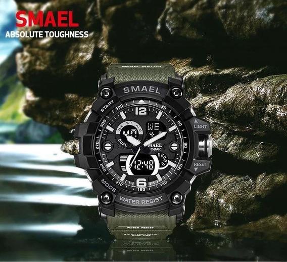Relógio Smael 1617 Original Á Prova D