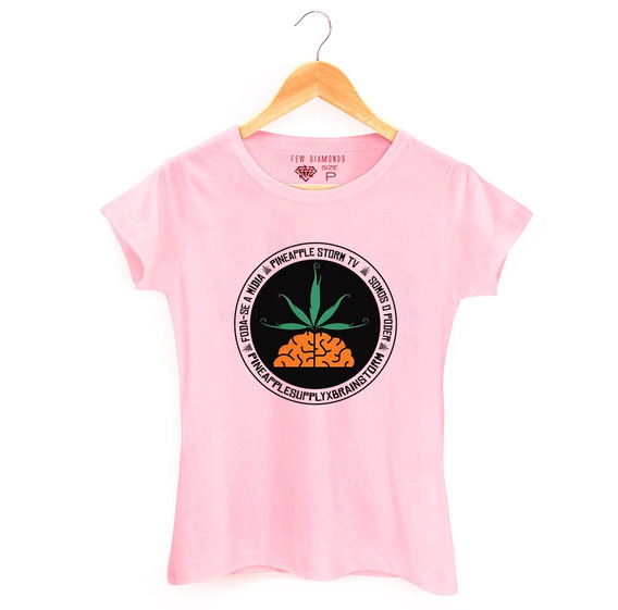 Camiseta Feminina Pineapple Poesia Acústica Supreme 9p