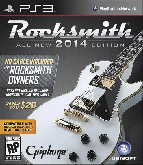 Rocksmith 2014 - All-new Edition - No Cable Included - Ps3