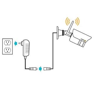 Defensor Wireless Hd 1080p De 4 Canales Sistema De Vigilanci