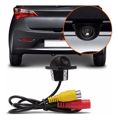 Mini Camera Ré Estacionamento Automotiva Colorida Tartaruga
