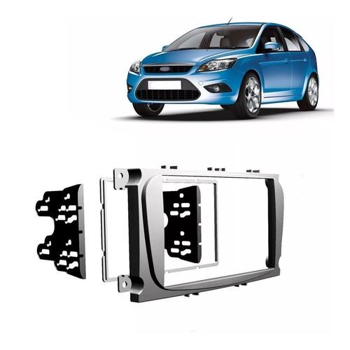 Moldura Painel Dvd 2 Din Central Multimídia Carro Ford Focus