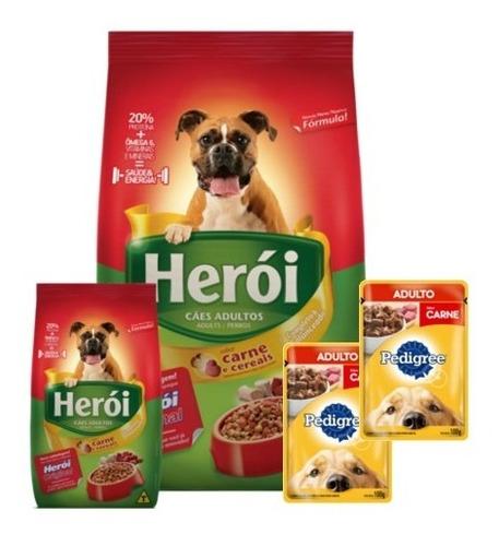 Imagen 1 de 5 de Alimento Heroi Adulto 25k+ Promo -ver Foto+ Envío Gratis!