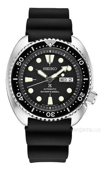 Relógio Seiko Prospex Turtle Diver Automatico 45mm Srp77 Nfe