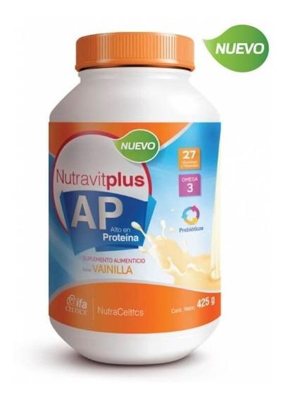 Nutravitplus Ap Vainilla 425gr + Coaching Nutricional Gratis
